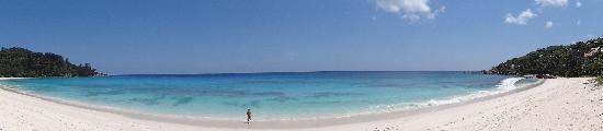 Takamaka, Seychellerna: Strand