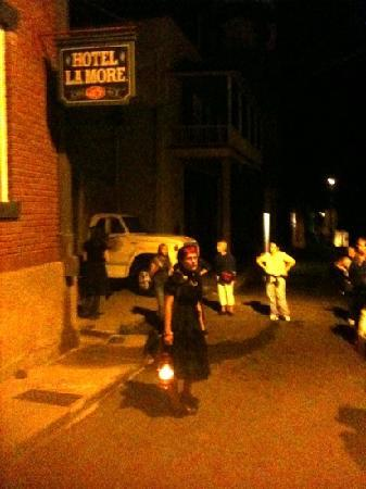 Old Bisbee Ghost Tours: ghost cat!