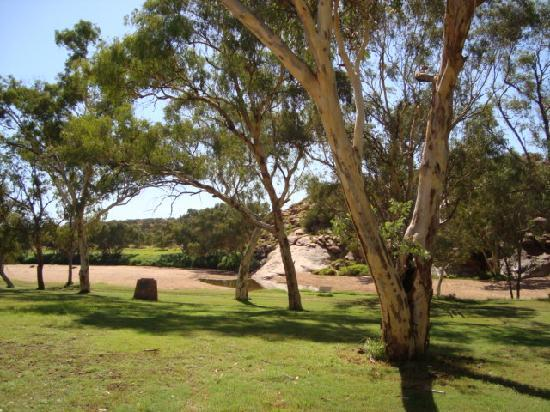 Alice On Todd Apartments: Telegraph station