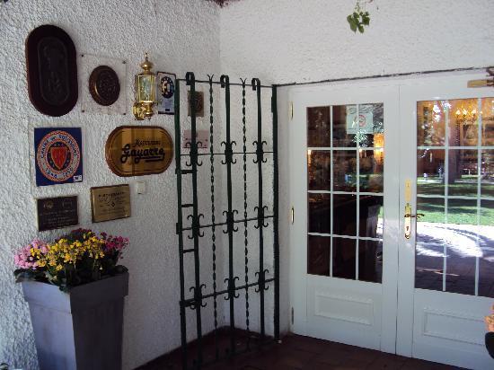 Restaurante Gayarre: Entrada al restaurante