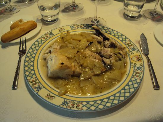 Restaurante Gayarre: Cogote de merluza