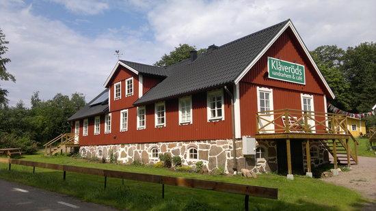 Klaverods Vandrarhem & Cafe: The main building