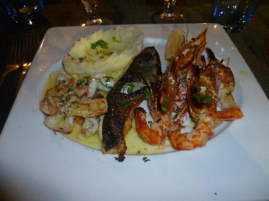 Sheraton Club des Pins Resort : Fricassée du Nautilus