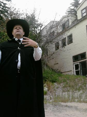 Park City Ghost Tours: Great story teller :-)