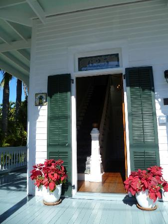 The Conch House Heritage Inn: The entrance