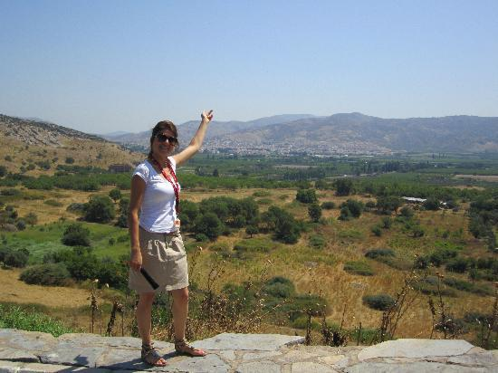 Ephesus Tours: Selda showing off her home town of Selcuk.