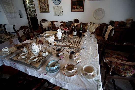 Naxos, Grekland: Alltagsgegenstände der Adelsfamilie