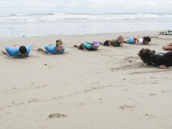 Del Mar Surf Camp: pre-surf learning