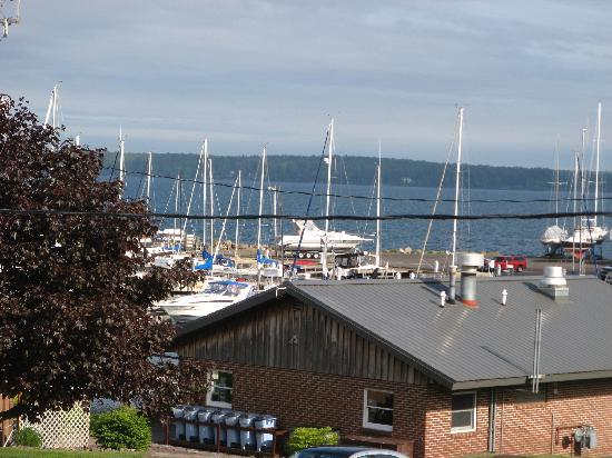 The Bayfield Inn: View of Lake Superior from Balcony