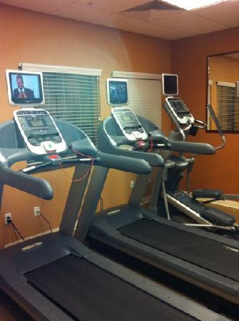 Homewood Suites Denver Tech Center: fitness center & pool are great