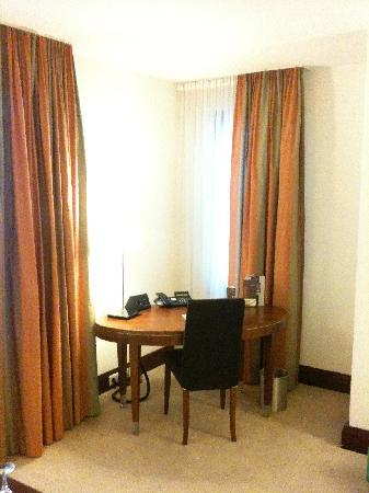 Sheraton Carlton Hotel Nuernberg: Büroecke