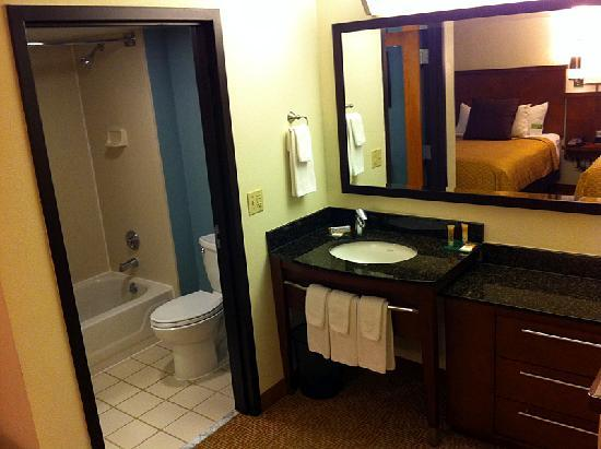 Hyatt Place Albuquerque/Uptown : Clean bathroom w/most amenities.