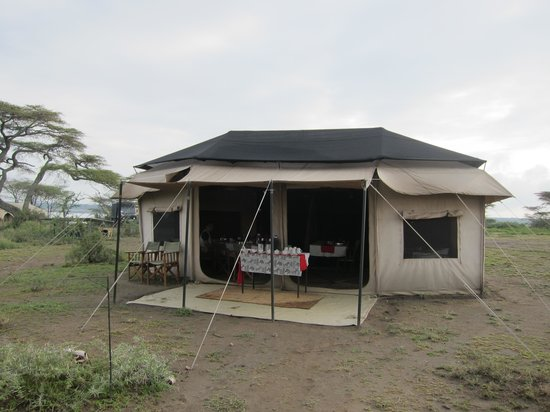 Kirurumu Tarangire Lodge: the dining tent