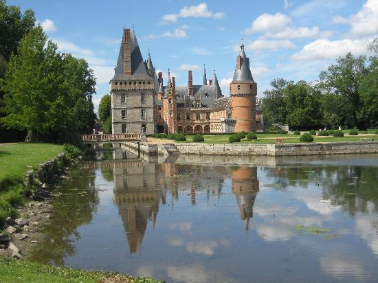 Chateau de Maintenon: Reflections