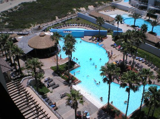 pool view from balcony Picture of Pearl South Padre South Padre