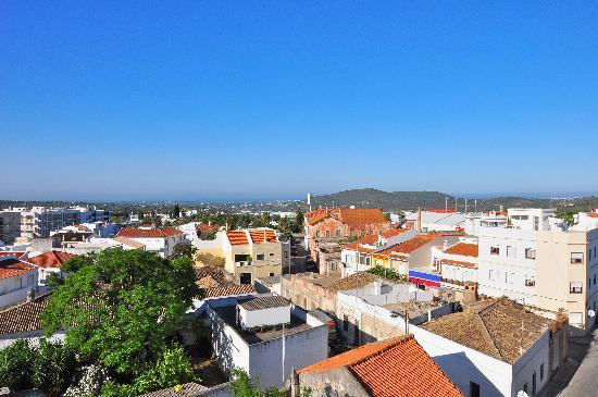 Loule Jardim Hotel : View from room 405 balcony
