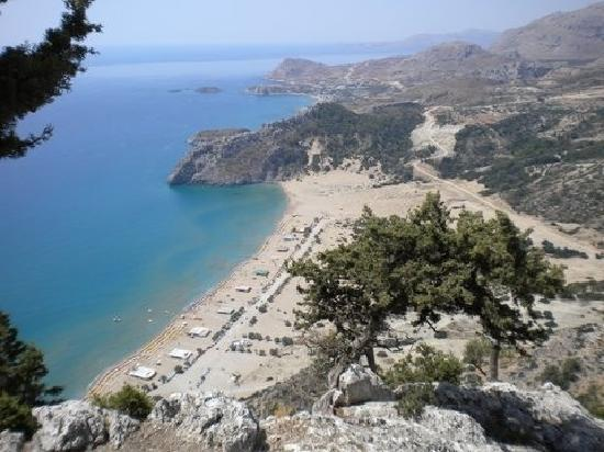 Holiday Village Rhodes: view from tsambika mountain