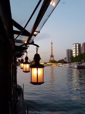 Heading Back Towards Eiffel Tower Picture Of Bateau Le