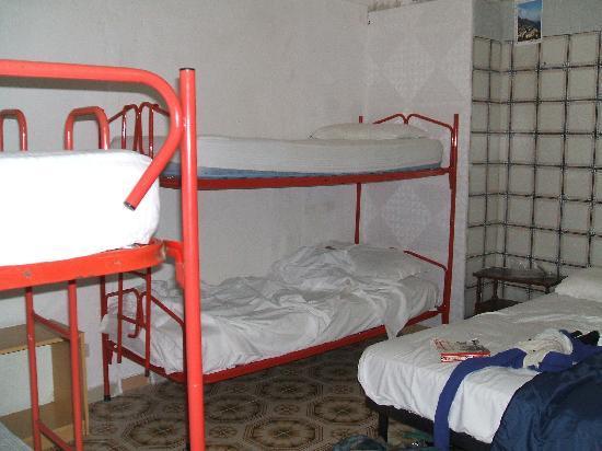 A'  Scalinatella Hostel and  Hotel: My bunk