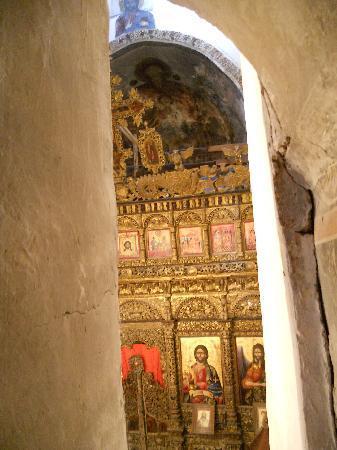 Church of Labove e Kryqit: iconostasi