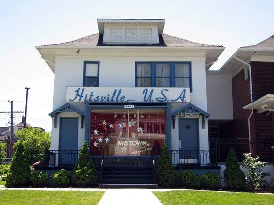 Detroit, MI: Exterior of Motown museum