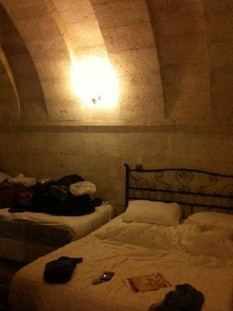 Nature Park Cave Hotel: our cave room