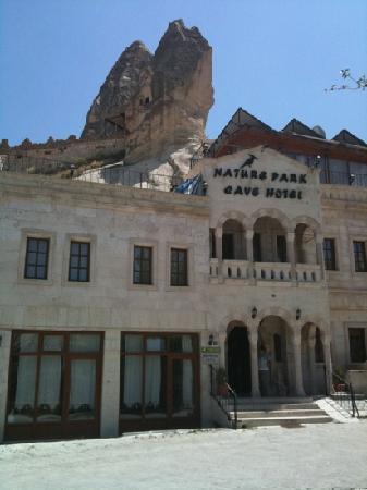 Nature Park Cave Hotel: front door