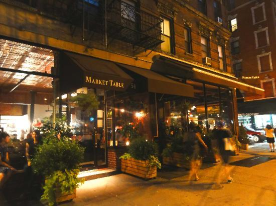 exterior of the market table picture of market table new york rh tripadvisor com market table nyc opentable market table nyc menu
