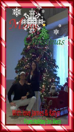 هوليداي إن ملبورن - فييرا كونفرنس سنتر: Christmas with Lobby Tree. kind enough to allow us to hang our own stockings!