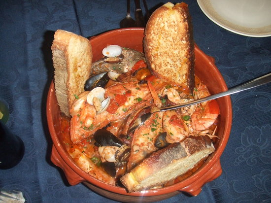 la vecchia taverna: Zuppa di pesce