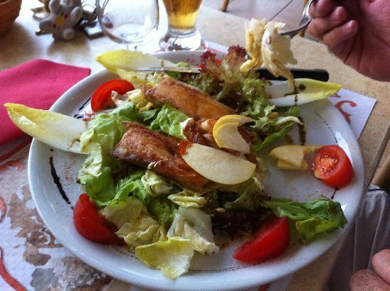 La Côte d'Argent : Salade composée