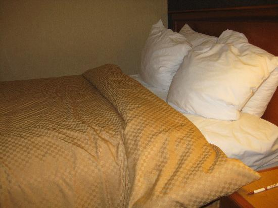 "Quality Suites Mission Valley SeaWorld Area: ""Made bed"""