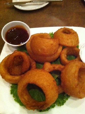 Silver Creek Steakhouse: onion rings