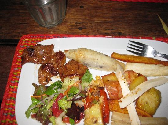 Pachapapa: Alpaca, chile relleno