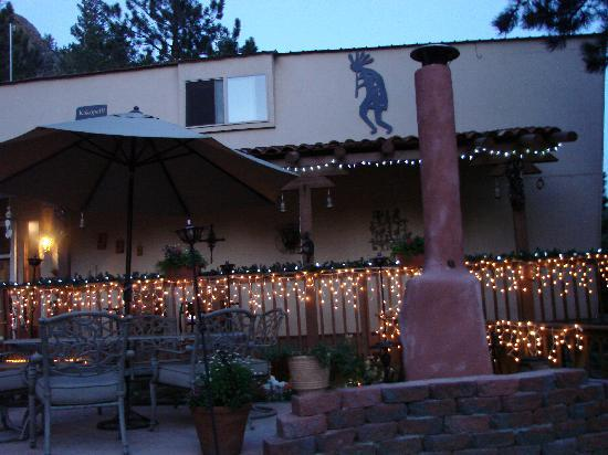 Kokopelli Inn: So pretty at night!