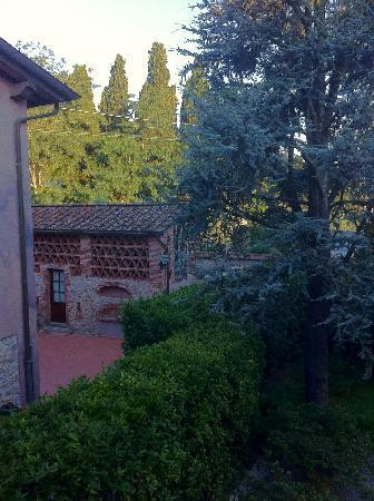 Casale Sodini: View from our room