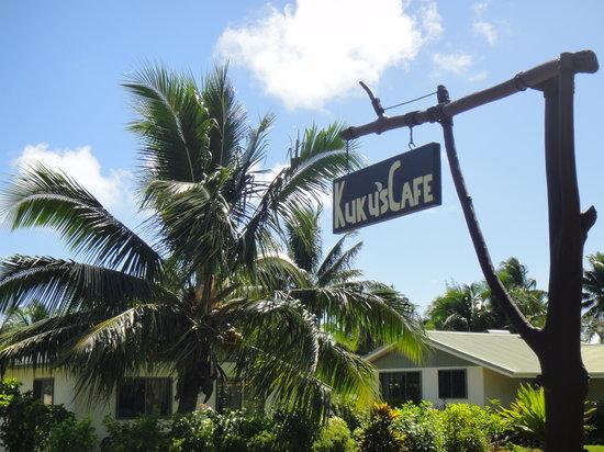 Kuku's Cafe : Kuku's sign