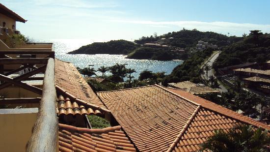 Rio Buzios Beach Hotel: vista desde balcón de Rio Buzios Beach