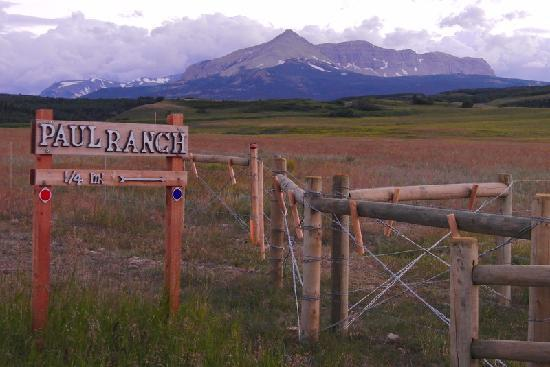 Paul Ranch Montana LLC: View from driveway