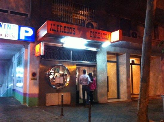 Alfredo's Barbacoa: la entrada