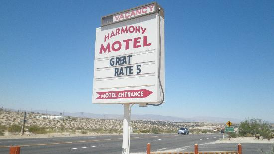 Harmony Motel: Great Rates!