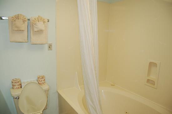Riptide Beach Club: Dated bathroom