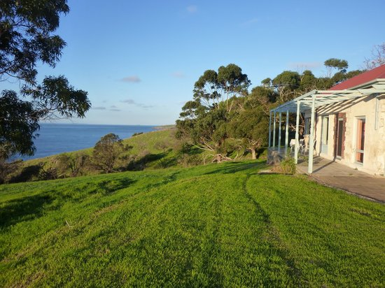 Antechamber Bay Retreats: View from the garden