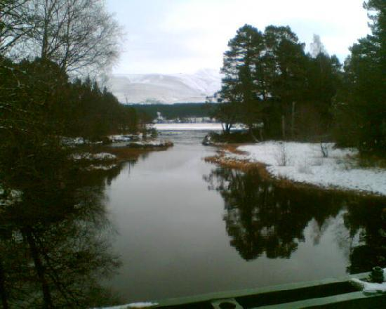 Carrbridge, UK: loch moflich