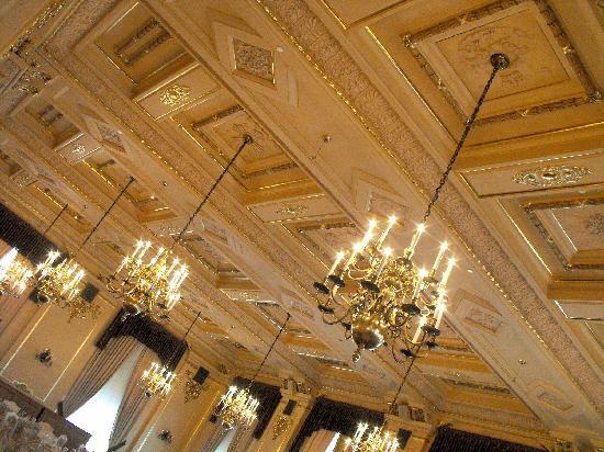 Ballroom Ceiling Picture Of Fort Garry Hotel Winnipeg Tripadvisor