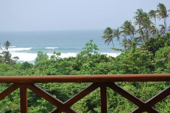 Weligama, Sri Lanka: view from my room