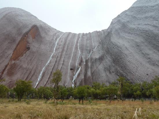 Longitude 131: We even got to see Uluru in the rain which is very rare!