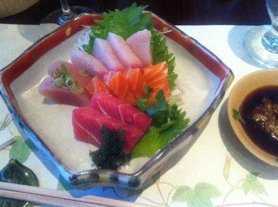Kaygetsu : sashimi assortment