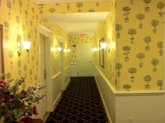 Main Street Inn and Suites: hallway