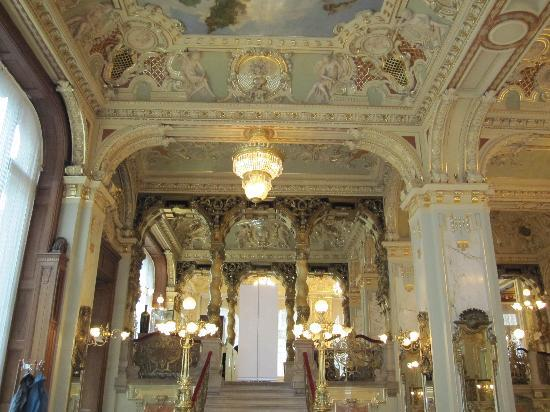 Interieur picture of new york cafe budapest tripadvisor for Interieur new york